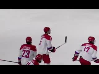 Кубок Глинки/Гретцки. Швеция U18  Россия U18. Обзор матча