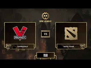 VP.Prodigy vs Dota Team, EPIC League Season 3, bo3, game 3 [Jam & Mila]