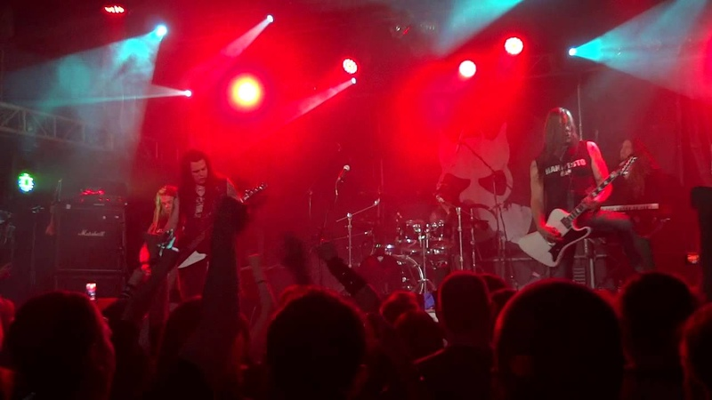 Poisonblack live in Moscow Volta Club 31 10 2014 2