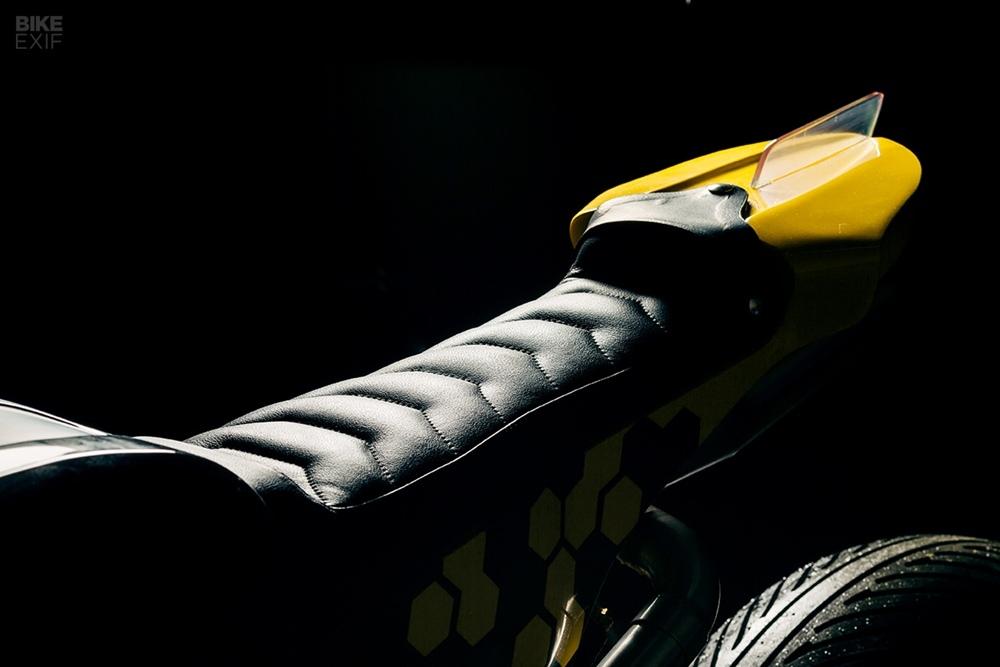 Оливер Ортолани: кастом Yamaha TR1