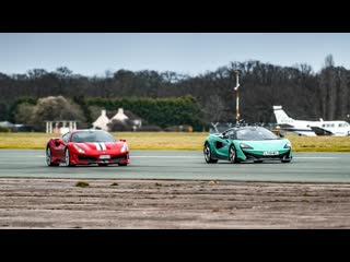 Крис Харрис: Ferrari 488 Pista против McLaren 600LT BMIRussian