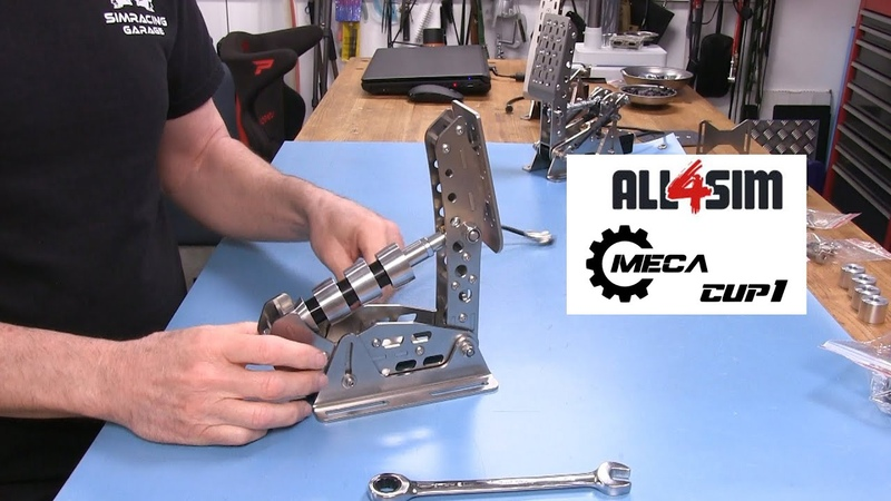 ALL4SIM Meca Cup1 Pedals Review
