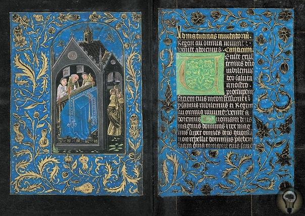 «Чёрный часослов»  одна из семи сохранившихся рукописей XV века с черными страницами