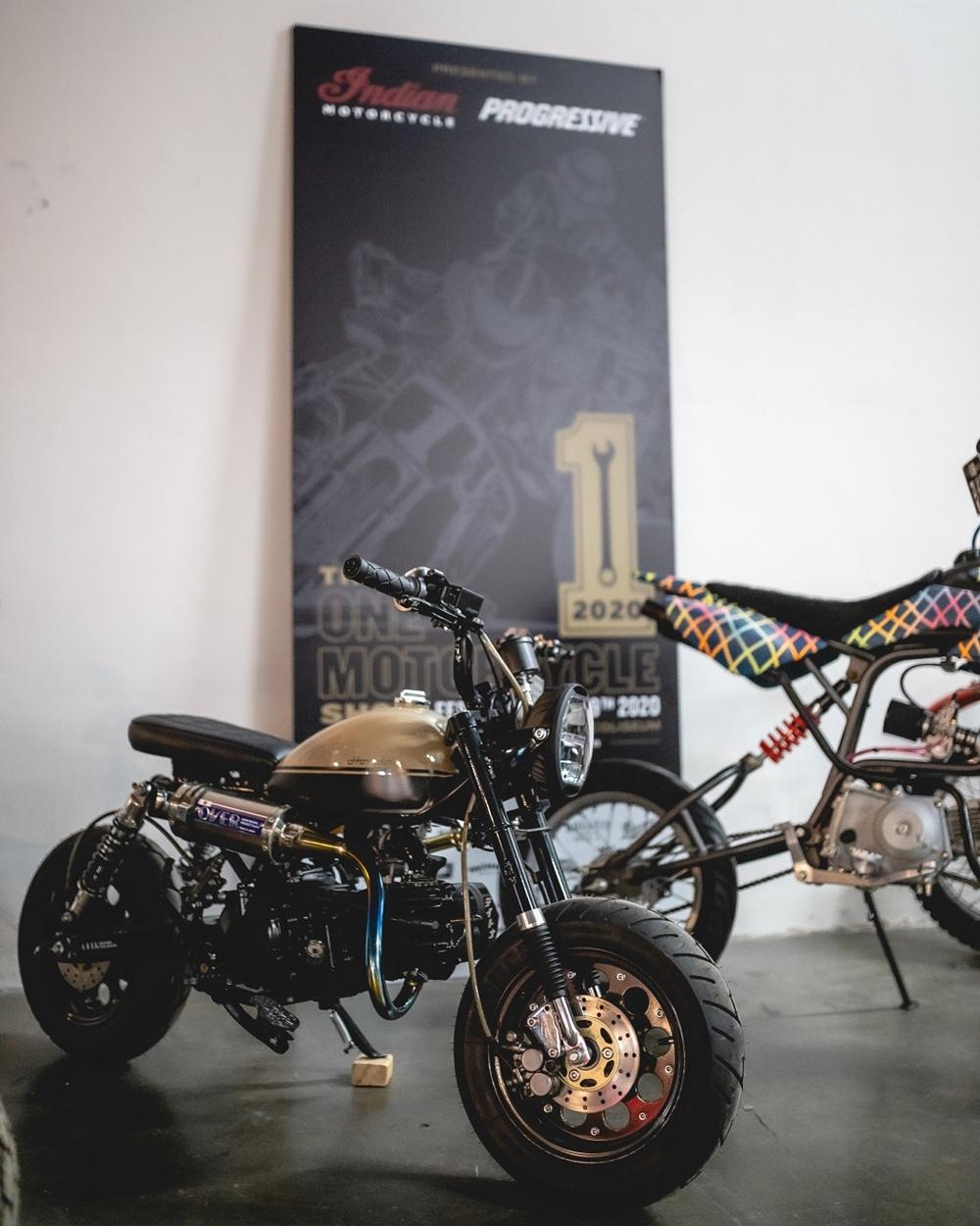 Кастом Honda Monkey Z50R
