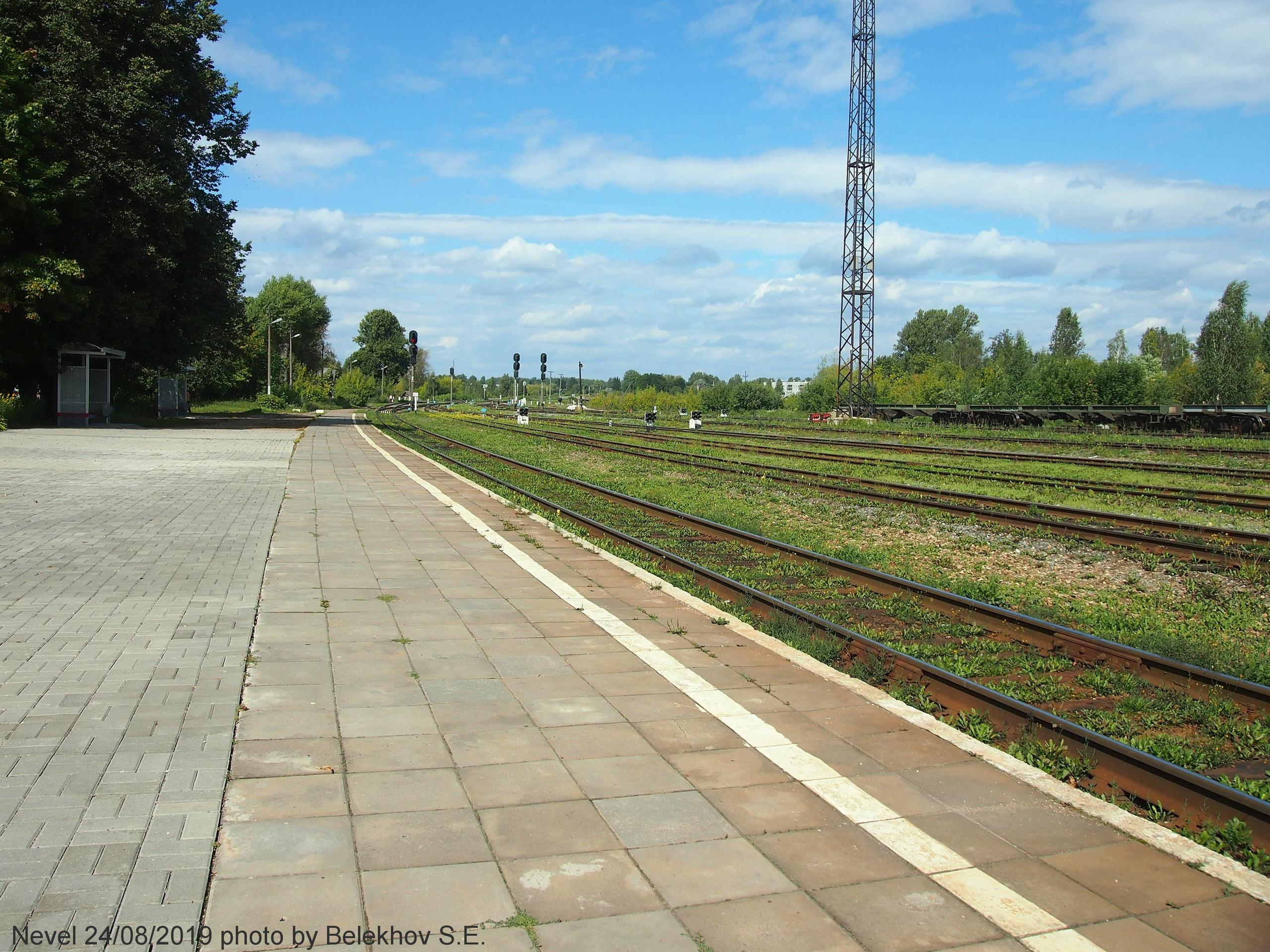 Невель, железная дорога