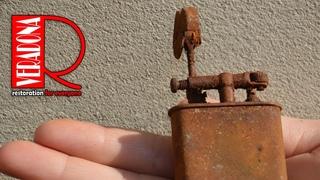 Old rusty lighter 4 Restoration