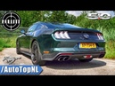 FORD MUSTANG BULLITT 5 0 V8 LOUD Exhaust SOUND Revs ONBOARD by AutoTopNL