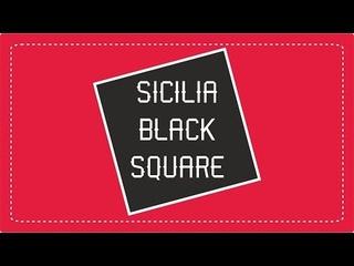 SICILIA Black Square