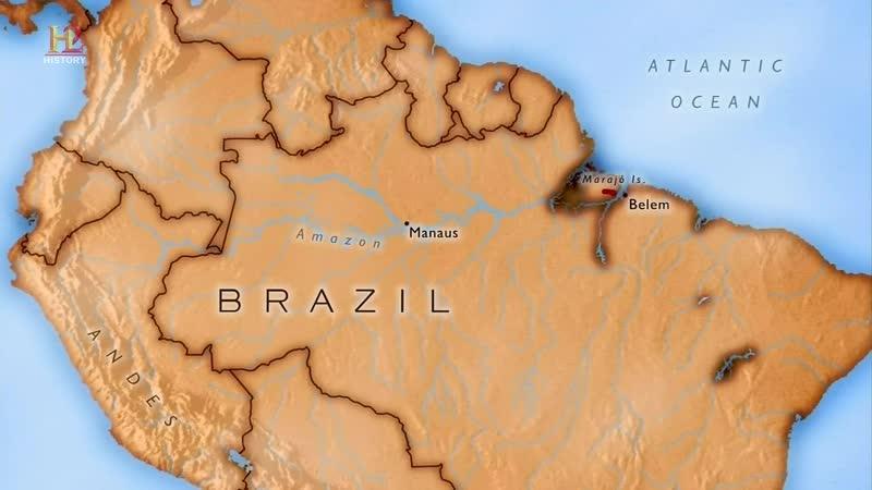 В Поисках Правды 2 сезон 1 эп Затерянные Города Амазонии