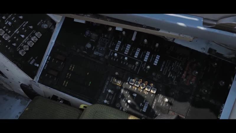DCS World- F-14 Tomcat Часть 3 - Холодный запуск самолета (перевод)