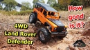 Land Rover Defender 4WD Toy RC Crawler RC Car