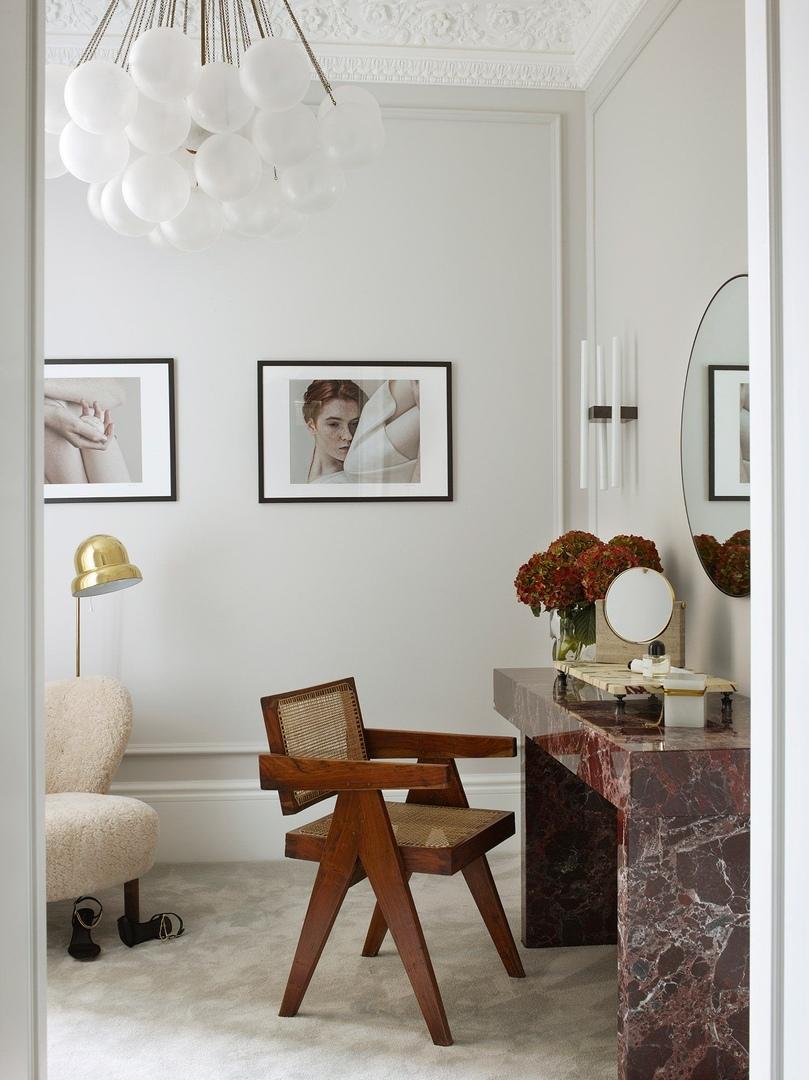 Светлая квартира с винтажем и искусством в Лондоне || 02