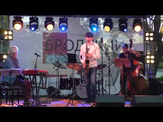 квартет Андрея Кондакова и Эми Питерс - Бродский DRIVE, Jazz Festival (, С-Петербург) HD