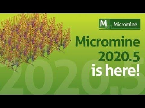Новая версия Micromine Micromine 2020 5 Презентация глобального обновления Евгения Шульга