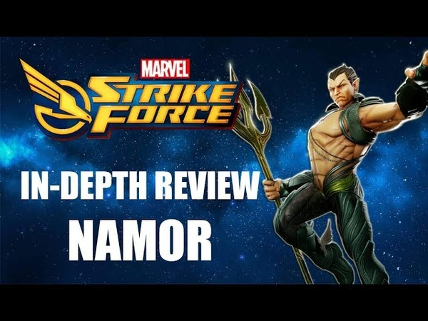 Namor In-Depth Review - Marvel Strike Force