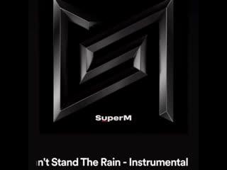 190829 exo's baekhyun and kai @ super m 'i can't stand the rain' (instrumental)