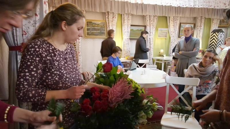 2017-10-20 ПМП Богдарня Мастер класс по церковной флористике