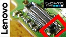 LENOVO A516 Change display connector Пайка пластиковых разъемов