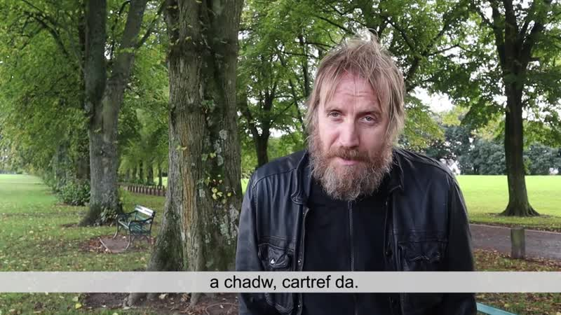 Rhys Ifans thank you to Shelter Cymru Campaign Supporters Welsh