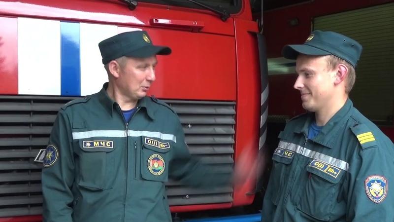 166 гадоў пажарнай службы адзначылі ў Беларусі 25 ліпеня