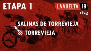 ETAPA 1 LaVuelta19 Salinas de Torrevieja - Torrevieja VueltaRTVE24a
