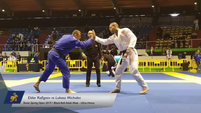 Eldar Rafigaev vs Lukasz Michalec _ Rome Spring Open 2019