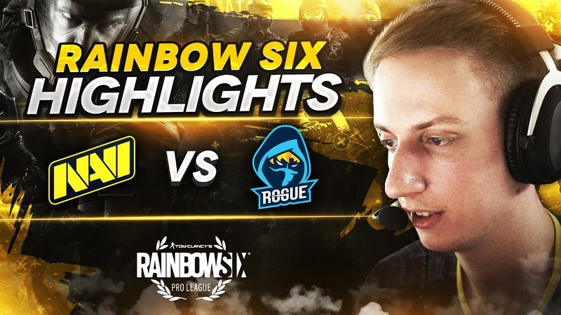 Rainbow Six Highlights NAVI vs Rogue @ Pro League S11