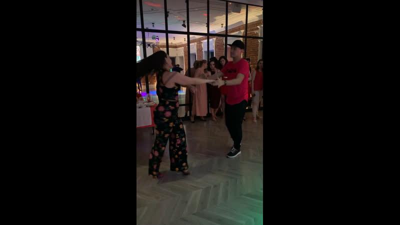 Jota and Dashusha at Dashusha's Birthday Party 2019