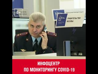 Путин и Собянин посетили информационныи центр по мониторингу ситуации с коронавирусом  Москва FM