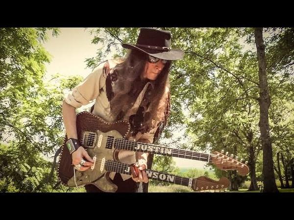 ZZ Top's LA GRANGE on the Double-Neck Guitar