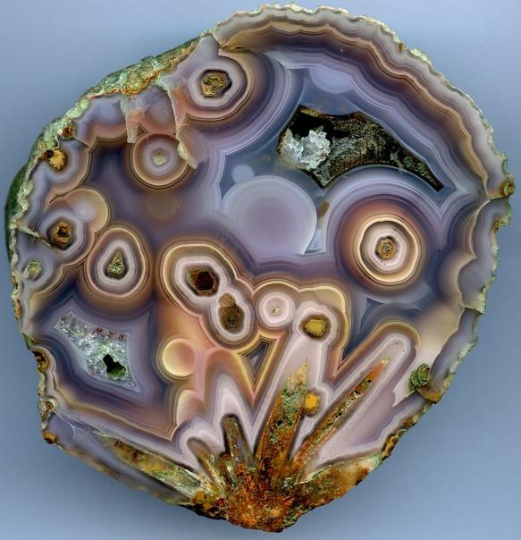 Потрясающая псевдоморфоза агата Коямито (Coyamito Agate