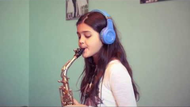 Laman Gasimova Lily Was Here Candy Dulfer Saxophone Cover