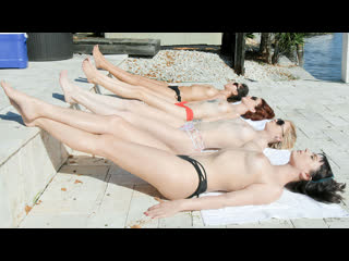 Nova Cane, Chloe Foster, Lola Fae [1080p, Porn, Teen, MILF, Orgy, Lesbian, Licking, Kissing, Fingering, OIled] - BFFS