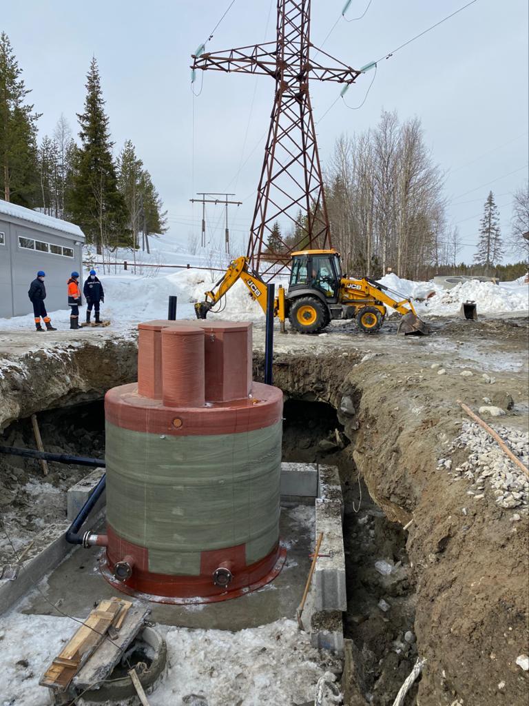 Капитальное строительство Водоочистной станции в п.г.т. Умба