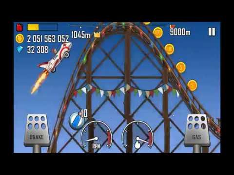 Hill Climb Racing: Rollercoaster The Rocket 1153m