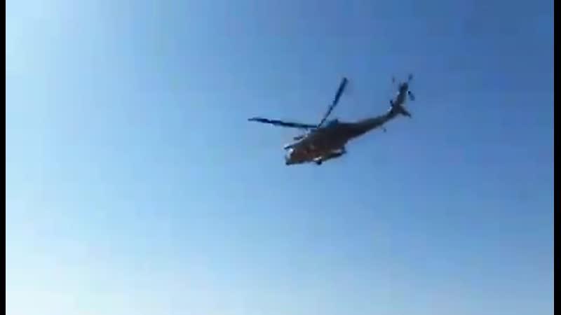 Lévacuation des blessés parmi les soldats italiens victimes de lexplosion de lIED à Kirkuk a été effectuée par des hélicoptères