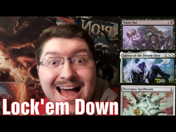 [Modern] Waste Not Lurrus Lock Down