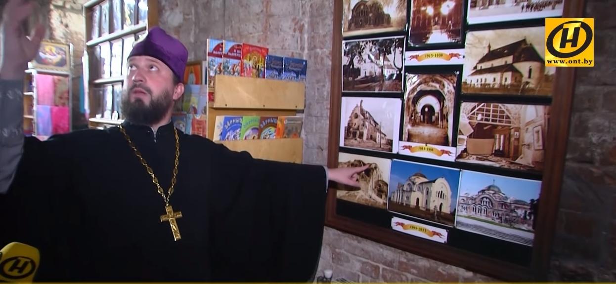 В епархии решили расписать стены фресками в Свято-Николаевском гарнизонном соборе Брестской крепости