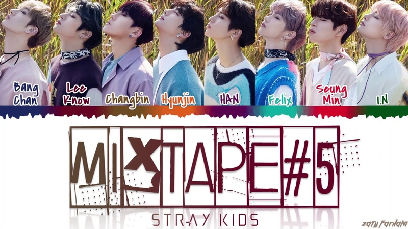 STRAY KIDS - 'MIXTAPE 5' Lyrics [Color Coded_Han_Rom_Eng]