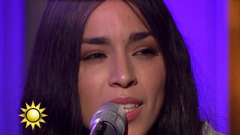 Loreen - Statements (akustisk version) - Nyhetsmorgon (TV4)