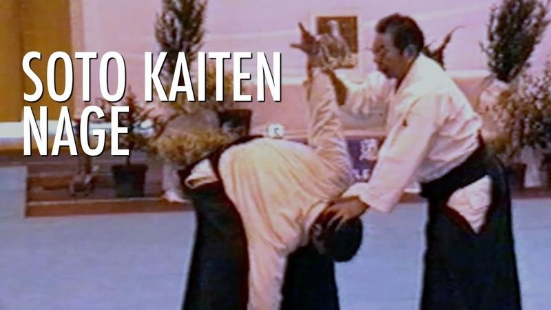 MORIHIRO SAITO Sensei SOTO KAITEN NAGE Aikido Lost Seminar France 1989