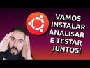Ubuntu 19.10 - DOWNLOAD, INSTALAÇÃO, CONFIGURAÇÃO E REVIEW AO VIVO - DFS