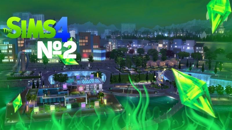 Sims 4. Летсплей, часть 2. Карьерный рост Жени