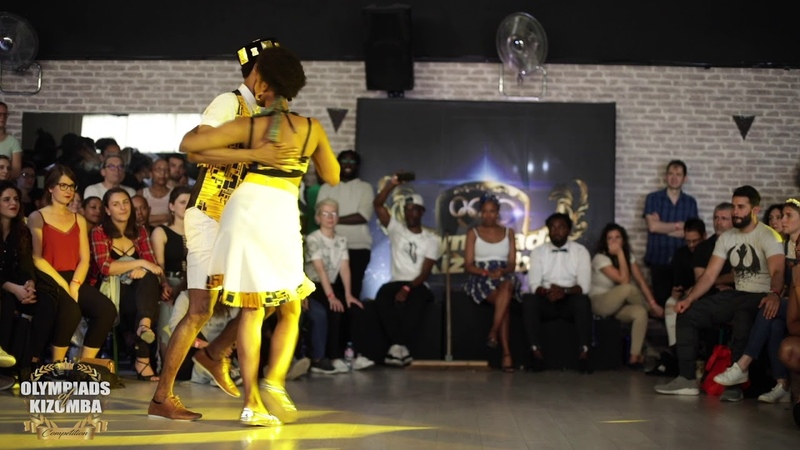 Wan Stella Kris VS Elhadj Lysis Olympiads Of Kizomba 2019 🏆 Authentic Final