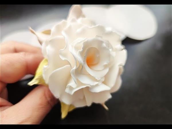 Роза Зефирка из Фоамирана Легко и Красиво