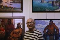 Выставка картин Кара Ефимовича Шулунова
