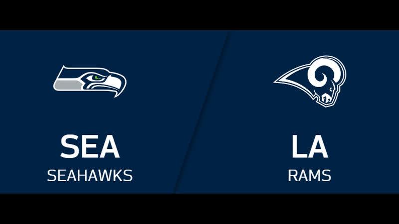 NFL 2019 2020 Week 14 Seattle Seahawks Los Angeles Rams RU Viasat Sport HD