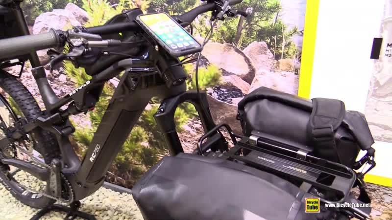 2020 Rotwild RC750 Topeak Accessorized Electric Mountain Bike Walkaround 2019 Eurobike
