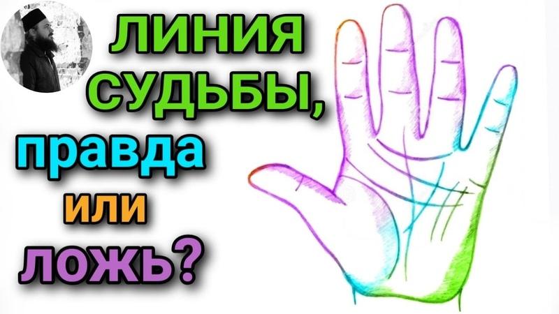Линия судьбы правда или ложь священник Максим Каскун