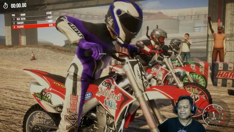 MX Nitro 3 Junior League Nomer satu Balapan Motor Trail Seru Unleashed Gameplay